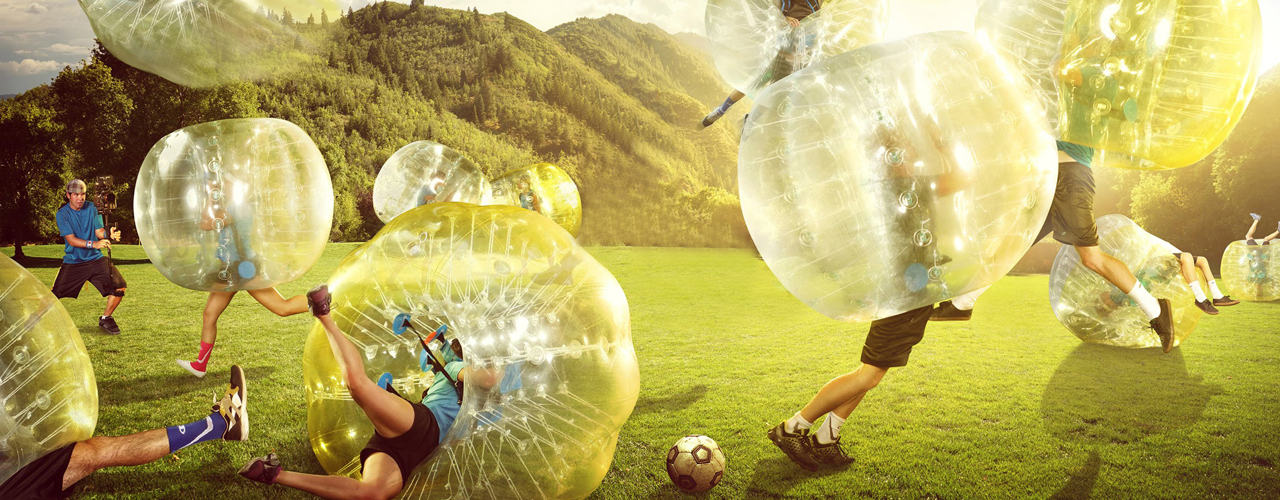 Orbite.be Bubble soccer
